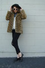 Brown-leopard-print-flying-tomato-coat-black-ripped-bdg-jeans