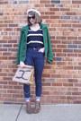 Brown-leopard-print-target-boots-green-winter-delias-coat
