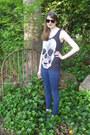 Navy-skinny-charlotte-russe-jeans