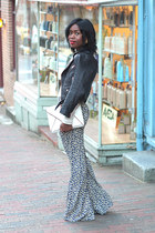 Club Monaco jacket - banana republic bag - Zara pumps - cecico pants