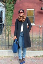 Zara bag - shoemint shoes - J Crew coat - Forever 21 jeans - H&M blouse