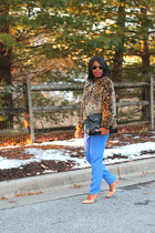 American Eagle coat - asos bag - madewell pants - Zara pumps