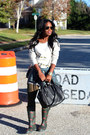 Joules-boots-madewell-jacket-rebecca-minkoff-bag