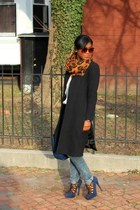 shoemint shoes - J Crew coat - Forever 21 jeans - Zara bag - H&M blouse