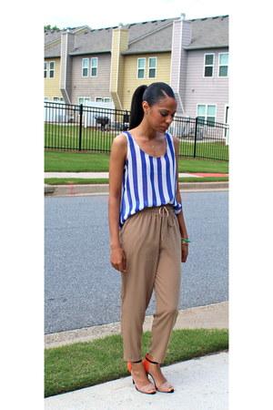 Forever 21 shirt - Forever 21 pants - Zara heels