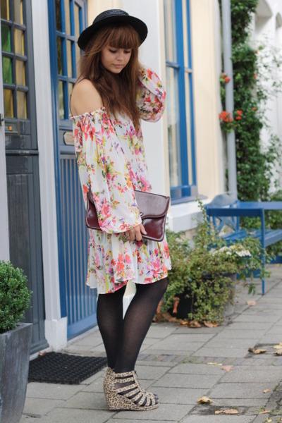 H&M shoes - Mango dress