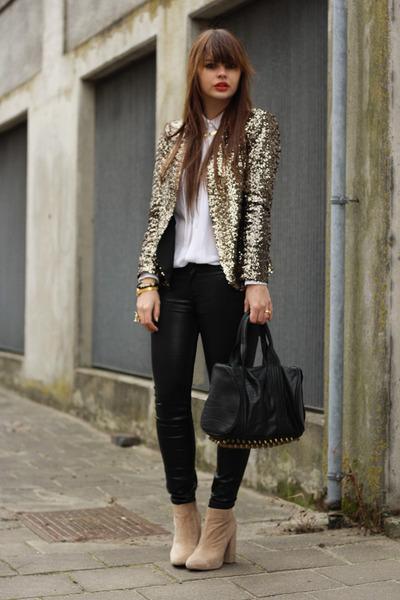 Zara blazer - asos jeans