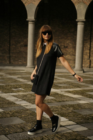 platform Stella McCartney loafers - Missguided dress