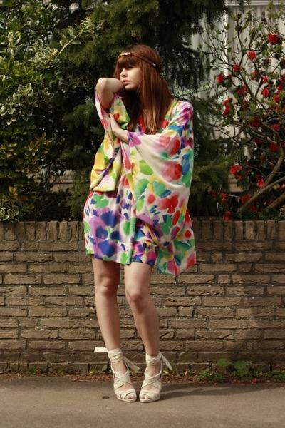 H&M garden collection dress