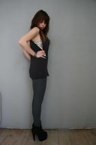 Ebay bra - H&M top - H&M leggings - Topshop boots