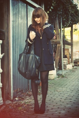See by Chloe bag - YSL shoes - Zara coat