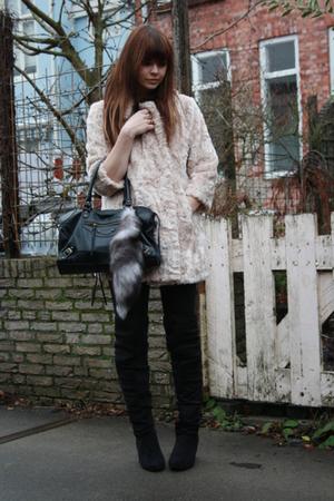 Topshop coat - Primark boots