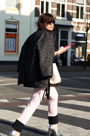 Alexander Wang loafers - Isabel Marant coat - Marni for H&amp;M sunglasses