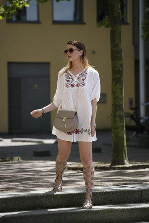 OASAP dress - Chloe bag - Celine sunglasses