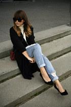 Missguided coat - Isabel Marant pumps