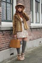 froufrousnl dress - H&M coat - vintage bag