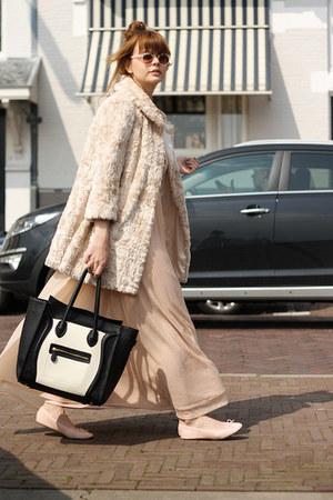 H&M dress - Topshop coat - VJ-style bag