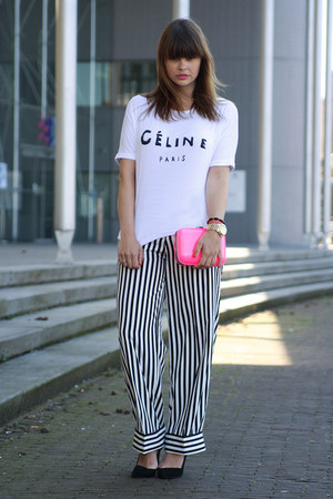 Celine shirt - H&amp;M pants