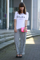 Celine shirt - H&M pants