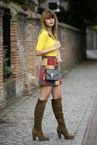 asos skirt - Topshop top