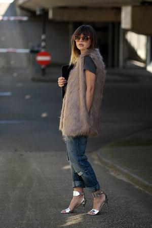 Misstella vest - Celine sunglasses - Ivanka Trump heels