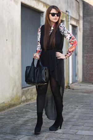 Love dress - Zara blouse