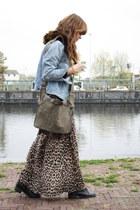 Primark skirt - vintage levis jacket