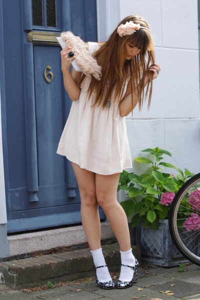 H&M dress - Miu Miu shoes