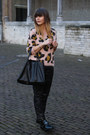 Leopard-print-topshop-sweater-shopper-celine-bag