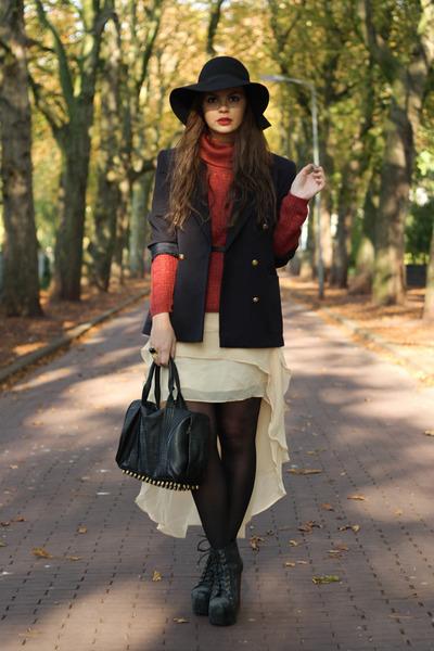 Beginningboutique skirt - vintage blazer