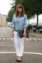 Wrangler jeans - Isabel Marant pumps