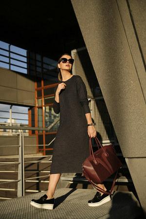 platform Stella McCartney loafers - Zara dress - antigona Givenchy bag