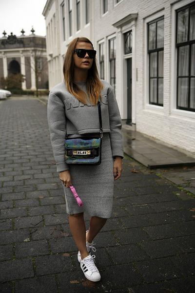 Alexander Wang x H&M sweater - Proenza Schouler PS11 bag