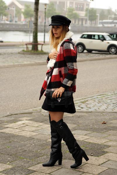 H&M boots - Stylish Plus cape