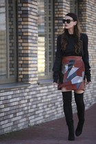 Rodarte x & Other Stories skirt - Vetements sweater