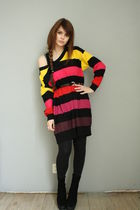 Sonia Rykiel for H&M sweater - Zara boots
