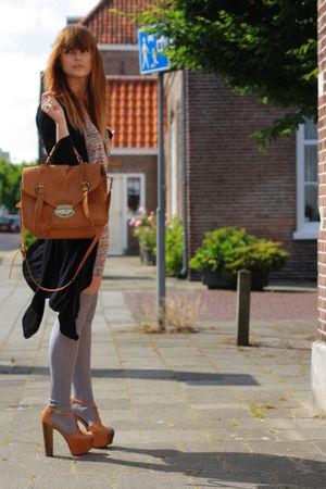 Jessica Simpson shoes - H&M Fashion against Aids dress - asos purse