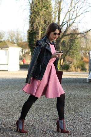 SuperTrash jacket - COS dress