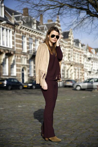 dicker Isabel Marant boots - The Fashion Bible jacket - Ray Ban sunglasses
