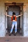 Caged-jeffrey-campbell-boots-boyfriend-vintage-levis-jeans
