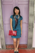 Zara dress - Mango purse - Soon Lee scarf - Zara shoes
