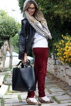 Stradivarius pants - Zara jacket - Zara bag