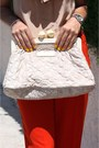 Nude-zara-blouse-eggshell-louis-vuitton-bag-prada-sunglasses
