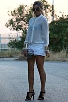 za blouse - za shorts