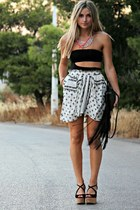 Zara skirt - Zara heels