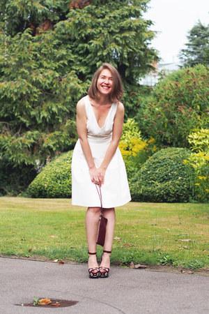 Reiss dress - Nina Ricci bag - Prada heels