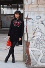 Black-aldo-boots-black-shein-shirt-carrot-orange-aldo-bag