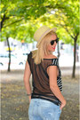 Light-blue-zara-jeans-navy-marc-cain-blazer-black-chanel-bag