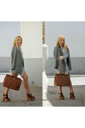 brown Zara shoes - brown cpmadrid bag