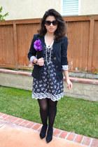 Macys dress - Charlotte Russe blazer